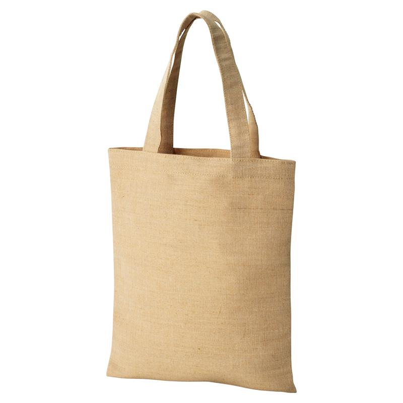 エコバッグ ジュート トートバッグ シルク印刷 名入れ印刷