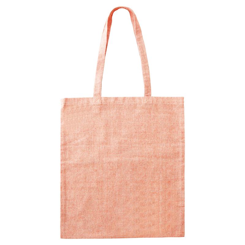 エコバッグ コットン トートバッグ 平袋型 シルク印刷 名入れ印刷