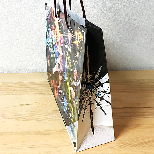 オリジナル紙袋 フルカラー印刷 アクリルスピンドル アニメ・ゲーム