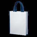 エコバッグ 不織布 トートバッグ 角底型 シルク印刷 名入れ印刷