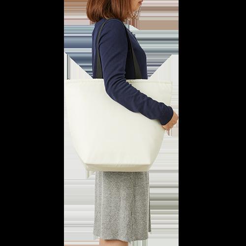 エコバッグ ポリエステル 保冷バッグ シルク印刷 名入れ印刷