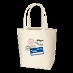 エコバッグ オーガニックコットン トートバッグ シルク印刷 名入れ印刷