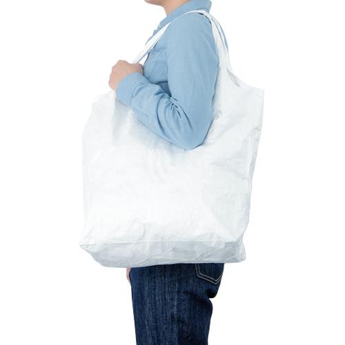 エコバッグ タイベック トートバッグ シルク印刷 名入れ印刷
