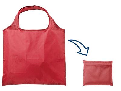エコバッグ ポリエステル 折りたたみバッグ 抗菌 シルク印刷 名入れ印刷